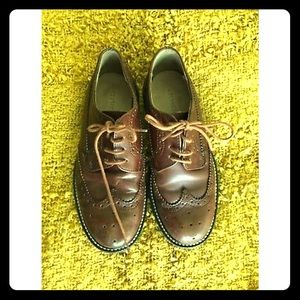 Crewcuts Boy Wingtip Size 13